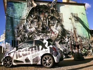 Decoração de viaturas – Vitamix Publicidade